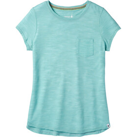 a864635a Smartwool Everyday Exploration Slub Shortsleeve Tee Damer, nile blue
